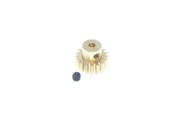 Redcat Racing 17T 0.8 MOD brass pinion gear with set screw 11177