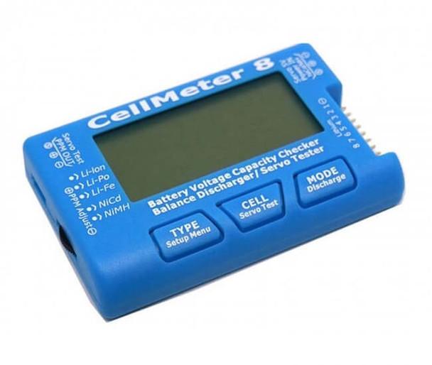 CellMeter 8 battery checker & servo tester