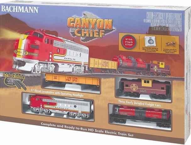 Bachmann Canyon Chief HO scale train set box 00740