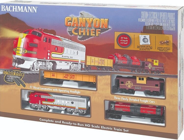 Bachmann Canyon Chief HO scale train set box 00740