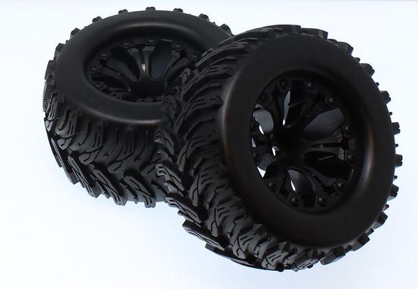 Redcat Racing Dukono mounted tire & wheel set 70121