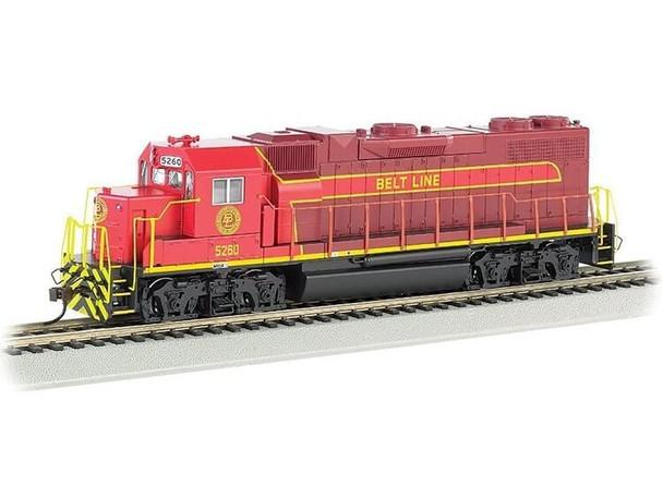 Bachmann EMD GP38-2 Belt Line 5260 HO scale diesel locomotive (DCC)