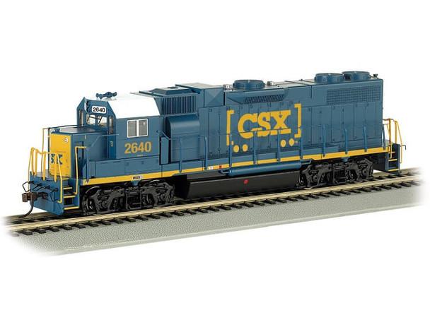 Bachmann HO EMD GP38-2 CSX 2640 HO scale diesel locomotive (DCC Ready)