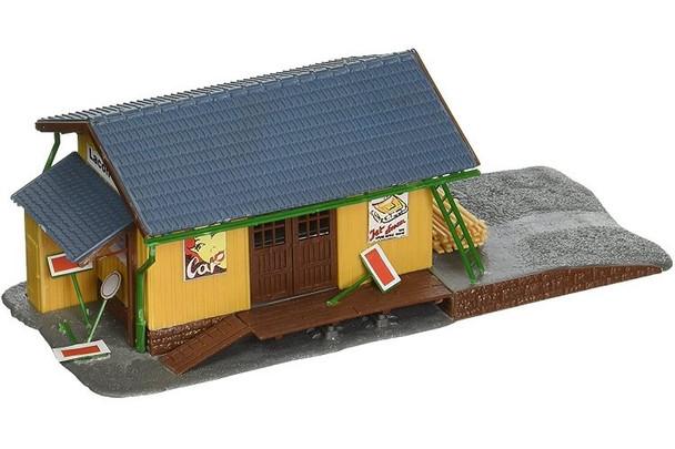 Model Power farmingdale freight station HO scale built up building 694