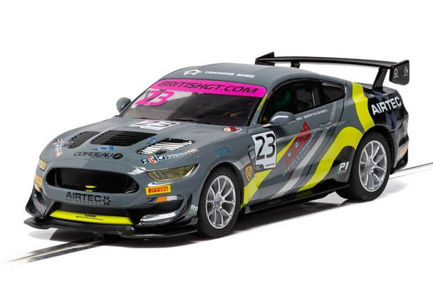 Scalextric Ford Mustang GT4 RACE Performance British GT 2019 1:32 slot car C4182
