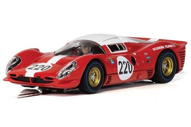Scalextric Ferrari 412P Targa Florio 1967 1/32 slot car C4163