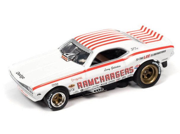 Auto World 4Gear 1971 Dodge Challenger Ramchargers HO slot car