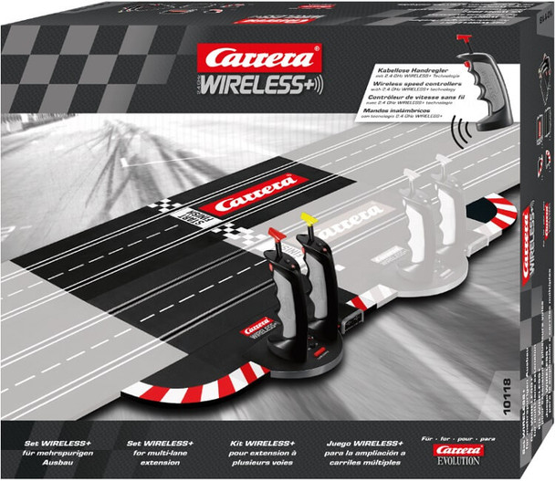 Carrera Evolution 2.4 GHz WIRELESS+ set for multi-lane extension 20010118