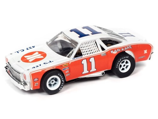 Auto World X-Traction 1973 Chevy Chevelle Cale Yarborough HO slot car