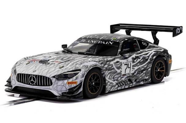 Scalextric Mercedes AMG GT3 RAM Racing Monza 2019 1/32 slot car C4162