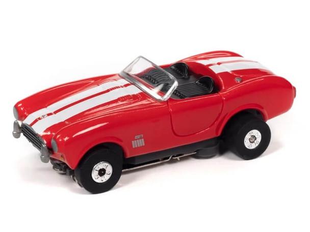 Auto World Thunderjet 1965 Shelby Cobra 427 S/C Roadster red HO slot car