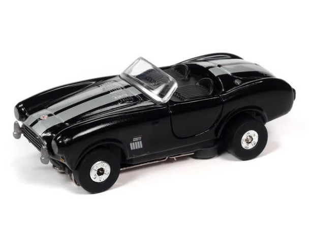 Auto World Thunderjet 1965 Shelby Cobra 427 S/C Roadster black HO slot car