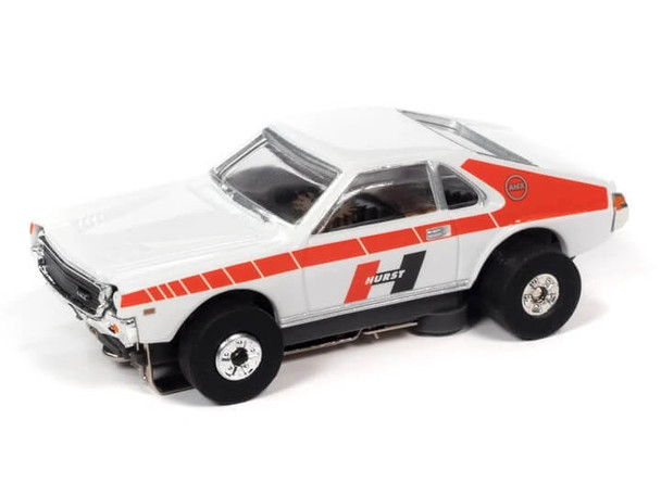 Auto World Thunderjet Ultra-G 1969 AMC AMX white/red HO slot car