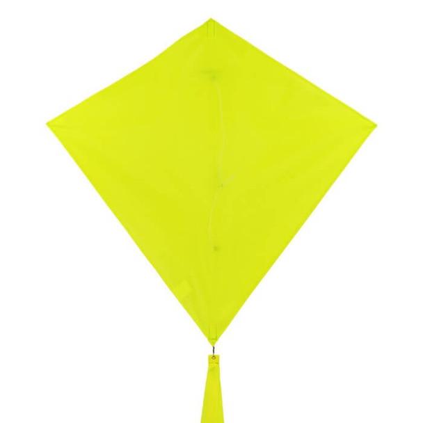 In The Breeze 30 inch Lemon Colorfly diamond kite 3296