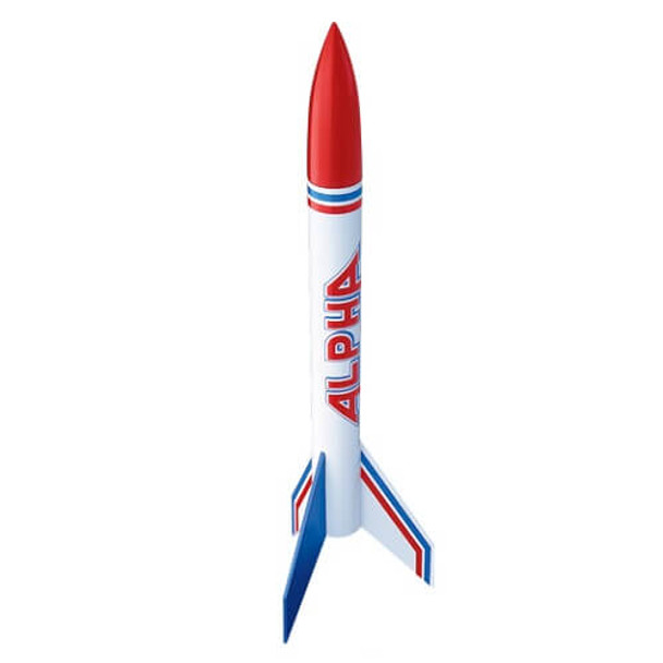 Estes Alpha flying model rocket kit 1225