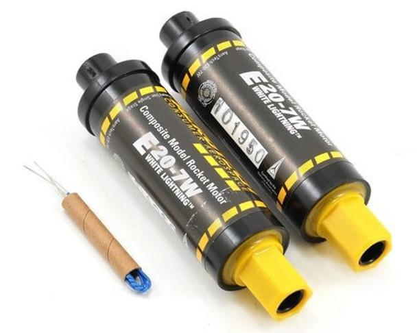 AeroTech E20-7W composite propellant model rocket motors 52007