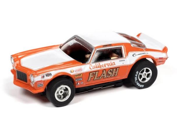 Auto World X-Traction 1970 Chevrolet Camaro Butch Leal California Flash HO slot car