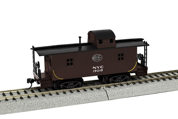 Lionel HO New York Central wood caboose 1954300