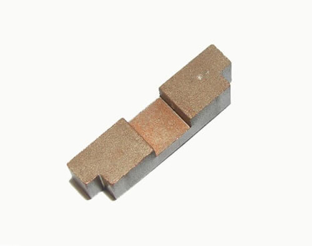 Bulldog AFX Turbo brass weight traction bar BDR7998
