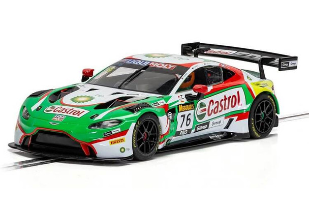Scalextric Aston Martin Vantage GT3 Castrol 2020 1:32 slot car C4218