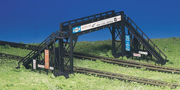 Bachmann pedestrian bridge HO scale building kit 45172