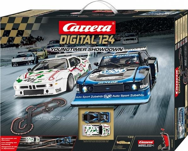 Carrera DIGITAL 124 Youngtimer Showdown race set box