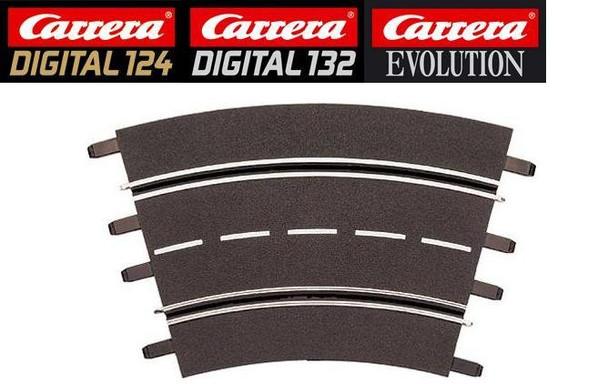 Carrera 2/30 degree curve track 20572