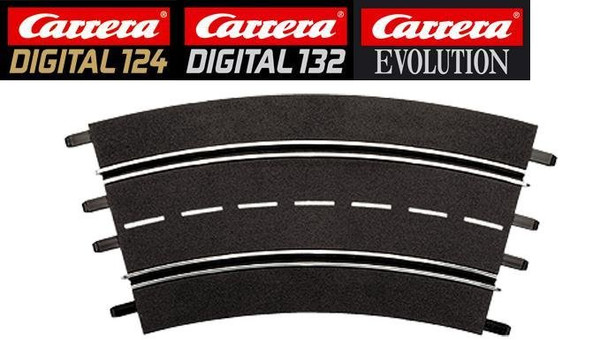 Carrera 3/30 degree curve track 20573