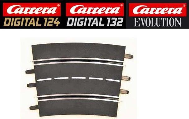 Carrera 4/15 degree curve track 20578