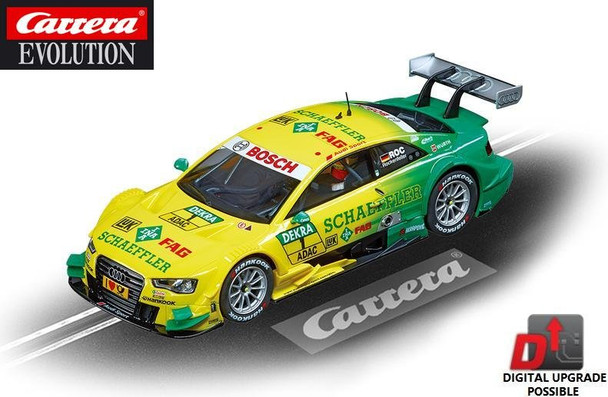 Carrera Evolution Audi A5 DTM Rockenfeller 1/32 slot car