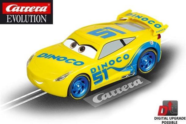 Carrera Evolution Cars 3 Dinoco Cruz 1/32 slot car 20027540