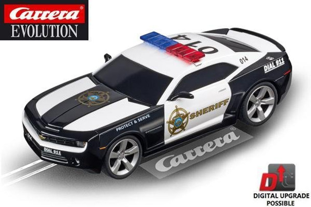 Carrera Evolution Chevrolet Camaro Sheriff 1/32 slot car 20027523