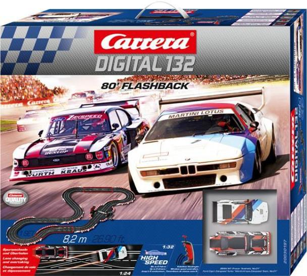 Carrera DIGITAL 132 80 Flashback race set box