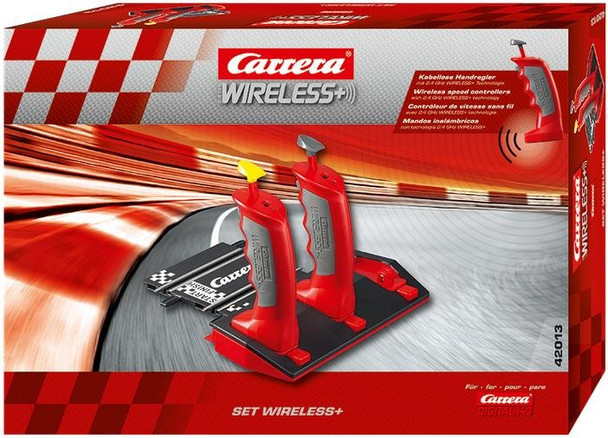 Carrera DIGITAL 143 2.4 GHz WIRELESS+ set with two controllers