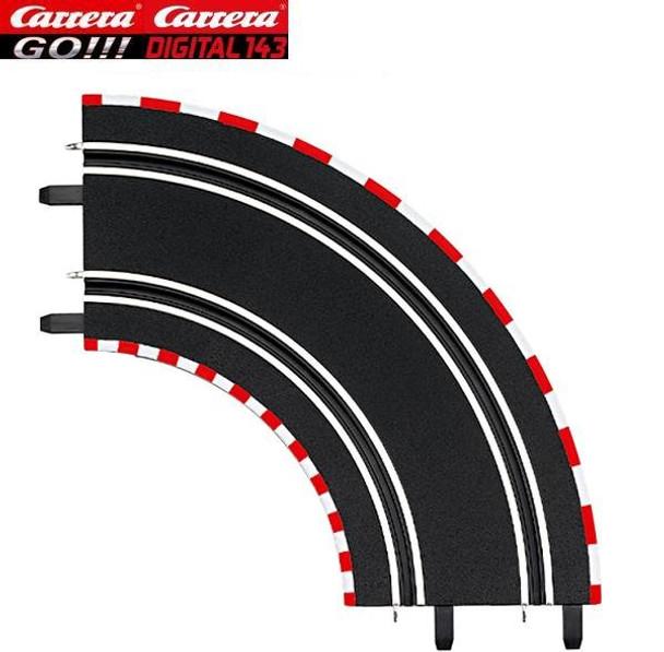Carrera GO 1/90 degree curves 61603