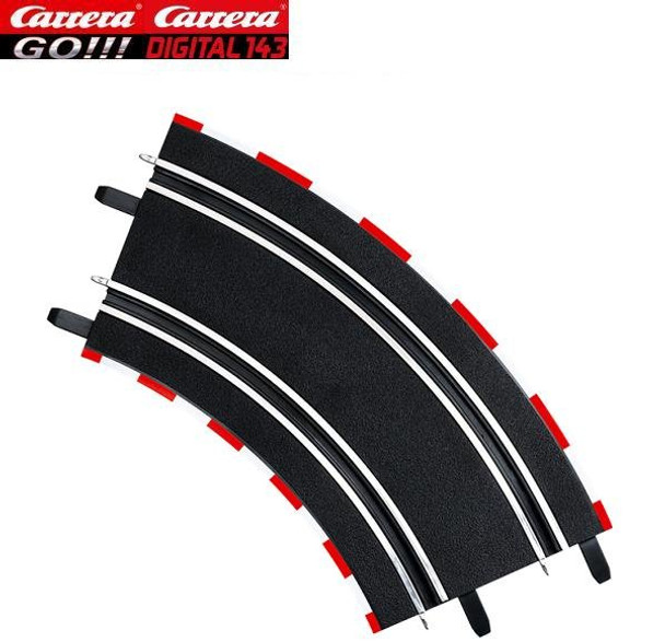 Carrera GO 2/45 degree curves 61617