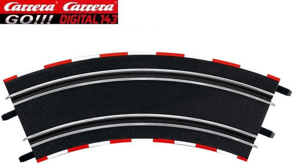 Carrera GO 3/45 degree curve 61645