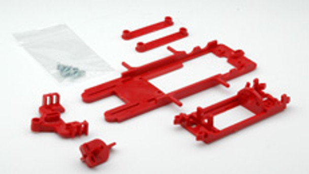 Hobby Slot Racing EVO 1/32 Chassis Kit - Red