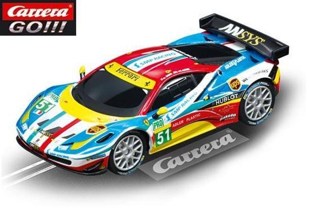 Carrera GO Ferrari 458 Italia GT2 AF Corse 1/43 slot car 20064053