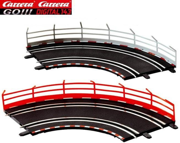 80 Guard Rail Holder For Carrera Universal New