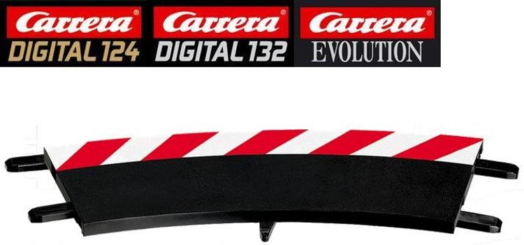 Carrera Digital 124 20563 Outside shoulder for 3//30 curve 6 pcs