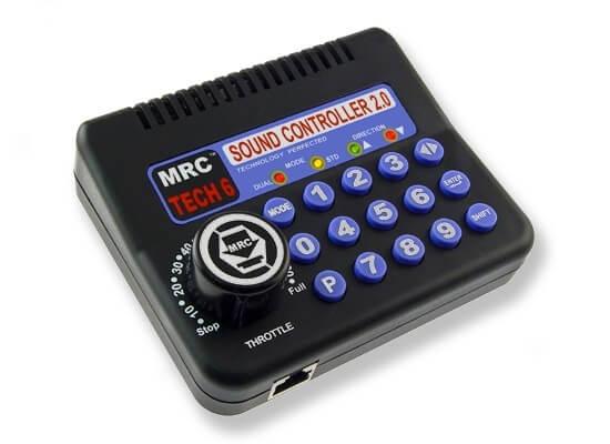 MRC Tech 6 sound controller 2.0 HO power pack
