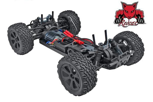 Redcat Blackout XTE Brushed 1/10 RC Monster Truck Chassis
