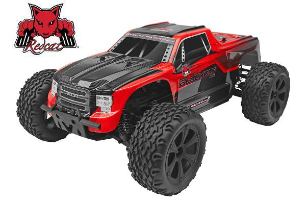 Redcat Blackout XTE Brushed 1/10 RC Monster Truck RTR