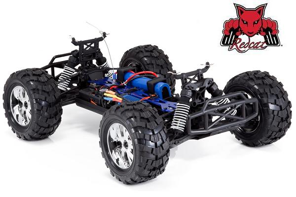 Redcat Caldera 10E Brushless 4WD 1/10 RC Monster Truck Chassis