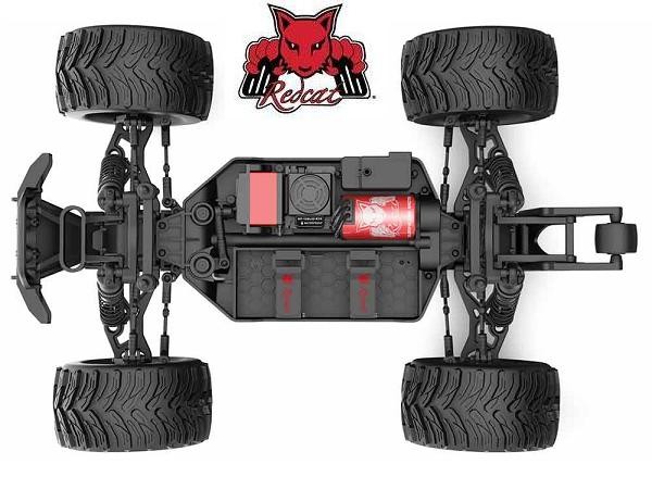 Redcat Dukono PRO 4x4 1/10 RC Monster Truck Chassis