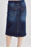 Cassie *Girls* Modest Denim Skirt