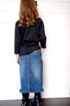 Girls Bridget Denim Skirt Vintage Wash