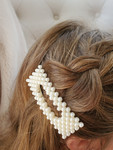 Pearl Rectangle Clip (Set of 2)