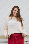 Favorite Oversize Polka Dot Sweater
